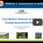 Webinar: Assessment of options for adaptation measures in Paraguay and Uruguay