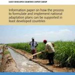 Information paper on how the process to formulate and implement national adaptation plans can be supported in least developed countries