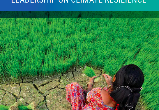 Adapt Now A global call for Leadership on Climate Resilience