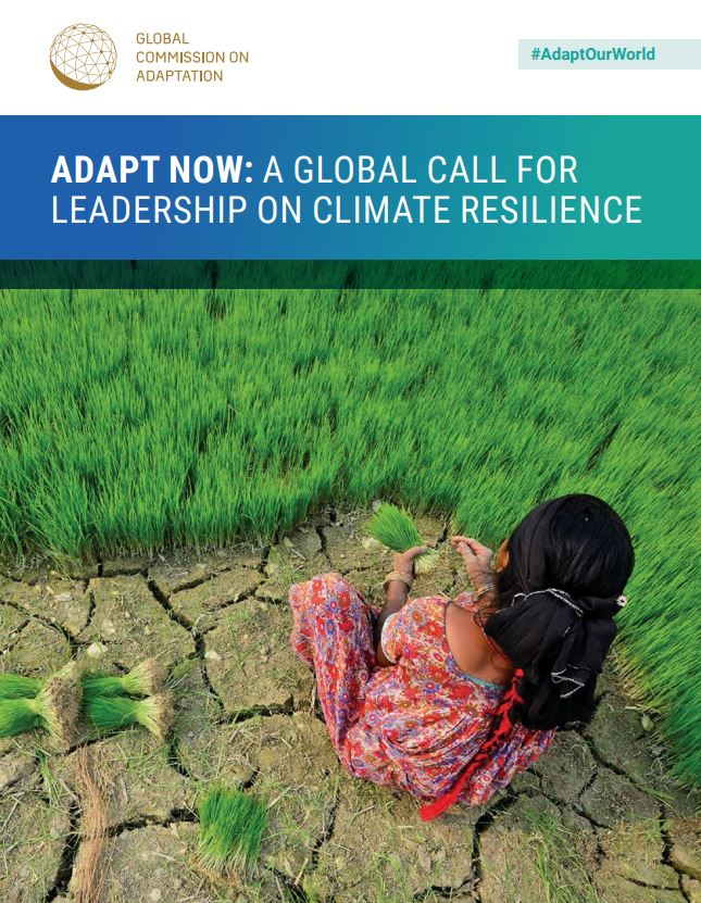 Adapt now: a global call for leadership on climate resilience.