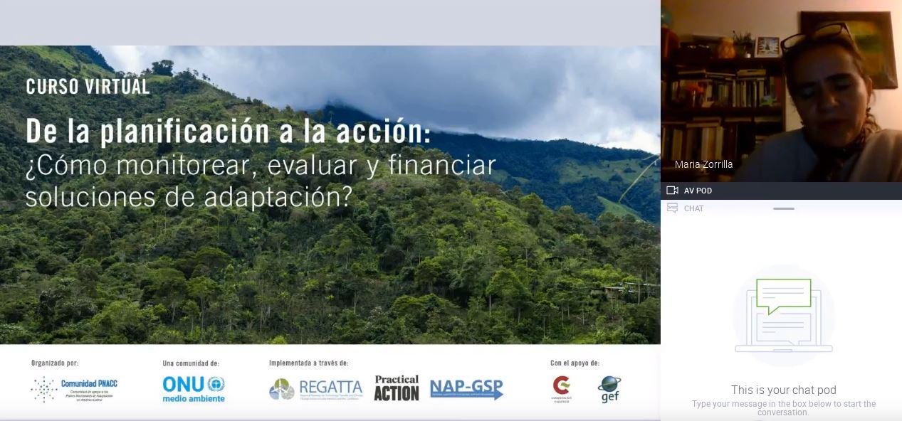 Sección 2- Módulo 1: El monitoreo y la evaluación de iniciativas de cambio climático