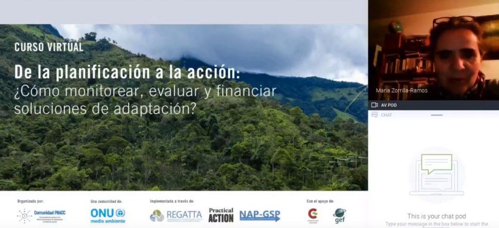 Vídeo sección 2: ¿Cómo monitorear, evaluar y financiar soluciones de adaptación?