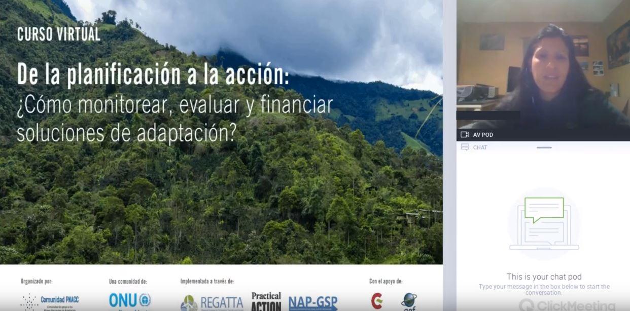 Vídeo Módulo 3: Fuentes de financiamiento público internacional y nacional para adaptación