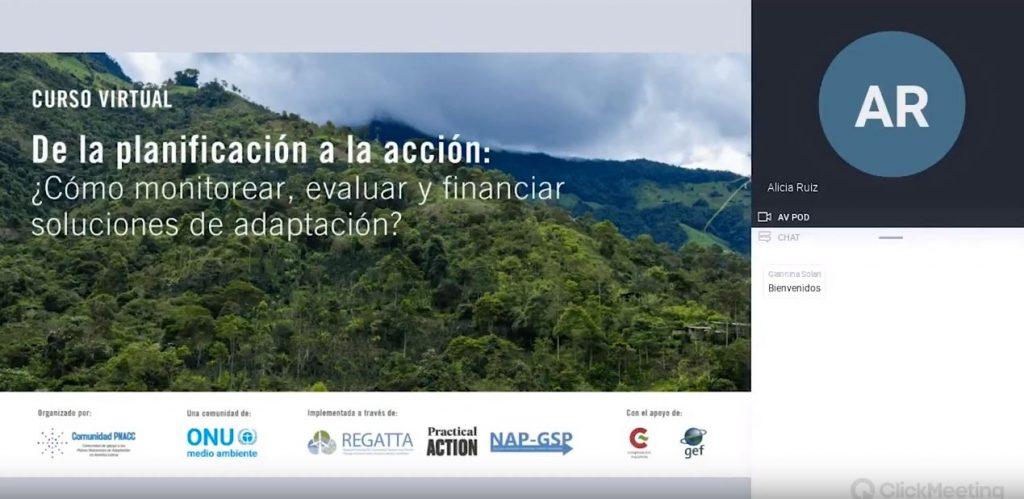Webinar del Módulo 1: Necesidades incrementales de financiamiento para adaptación