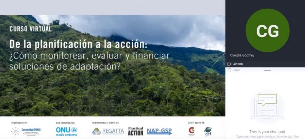 Webinar Módulo 3: Fuentes de financiamiento público internacional y nacional para adaptación